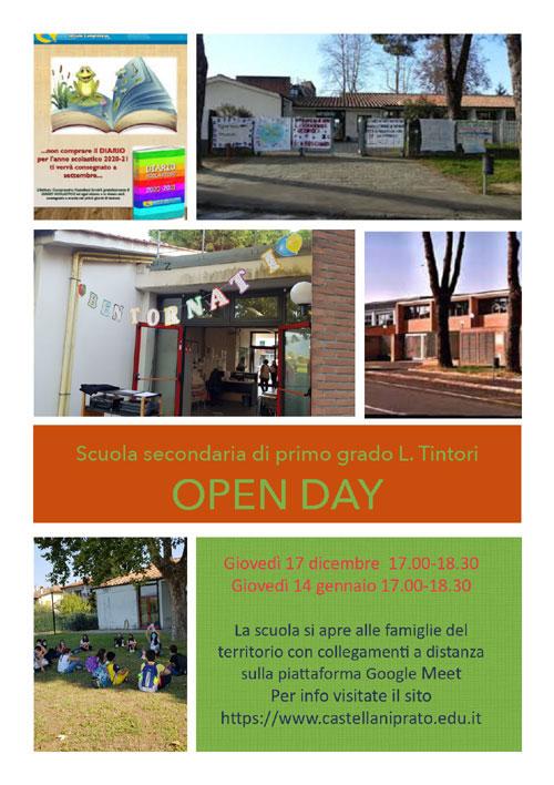 Open Day Scuola Secondaria di I grado Leonetto Tintori